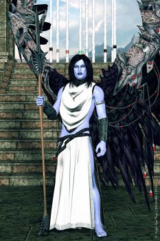 Legacy of Kain-Ancient vampire priest or warrior by LadyNightVamp