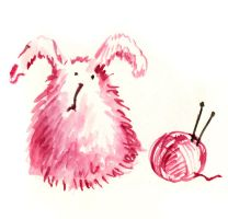 no7: Wooly Bunny by Bakenius