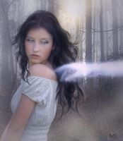 Ghostly touch by Eithen