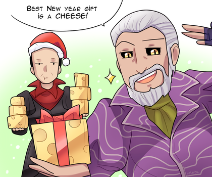 New Year postcard - TES by keterok