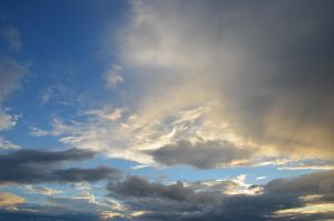 evening sky VIII by mimose-stock