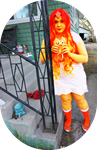 Flame Princess cosplay by Lxsketch