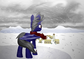 .:Commission:. Returning Home by SlideSwitched
