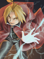 Edward Elric by budgebuttons