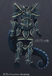 Leviathan - Armor Final Concept Art by Shi-Gu
