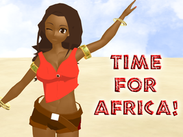 Time For Africa by AsianExcitementRP