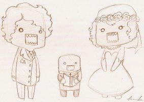 A very Domo Wedding by Ms-Luther