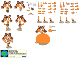 Character Builder-Sticks The Badger by Kphoria