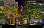 Chicago at night by dx