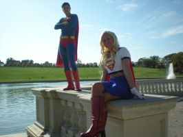 Superman and Supergirl by Ravenspiritmage