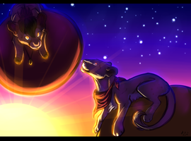 .:Comm:. Balloons by LuneTheTiger