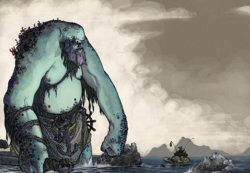 Sea Giant :: colored by junon