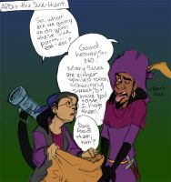 Clopin: After the sue hunt by Crispy-Gypsy