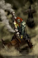 Ganon steampunked xD by Dark-Razvan