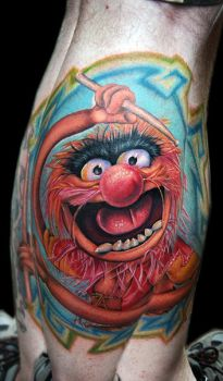 animal from the muppetts by tat2istcecil