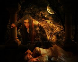 The vampire by maelinn