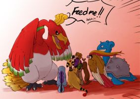 PKM: FEEED MEEEE by MooFrog44