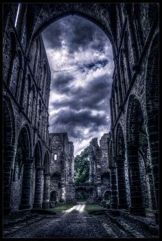 Abbey's ruins IV by zardo