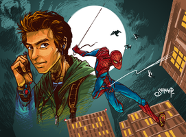 The Amazing Spiderman by Heri-Shinato
