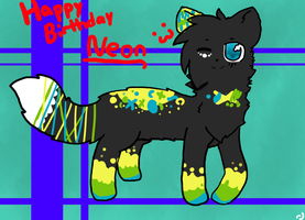 Happy Birthday Neon!!! by Azura-Kat