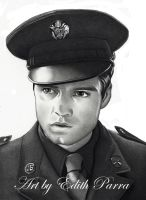 Sergeant Barnes by scoobylady