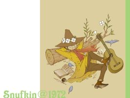 Snufkin-Japanese anime of1972 by TheHidden-Marigny