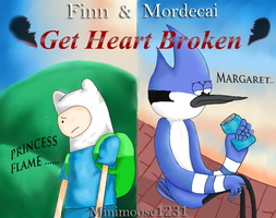 Finn and Mordecai get heart broken by minimoose1231