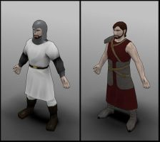 Lowpoly uniforms by contmike