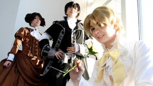 Fancy Ouran by evaliation