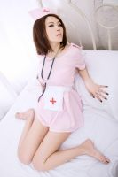 pink nurse 14 by Fan-shi-qi