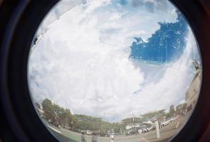 Fisheye by rahajeng