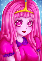 Princess Bubblegum by Robotsu