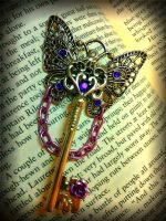 The Butterfly Queen Fantasy Key by ArtByStarlaMoore