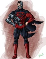Cyborg Superman by ArtistAbe