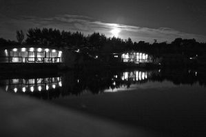 The lakes at night . . . by Rhienne123