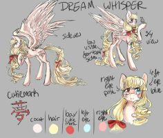 Dream Whisper- My Original Pony Character! by dreampaw