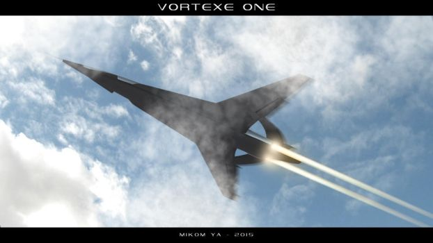 Vortexe One - Hypersonic Spaceplane by MikomDude
