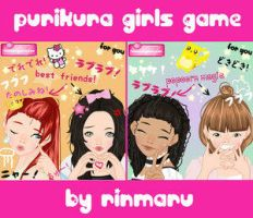 Purikura girls makeover game by Rinmaru