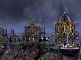 Fantasy City Wallpaper 1 by Trish2
