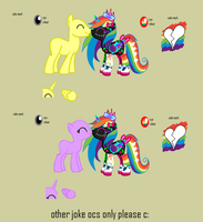 PDJNFSSSD joke pony breedable by nopieforyouok