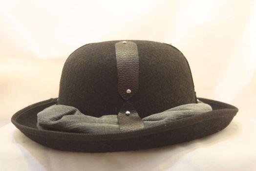 Leather Strap Hat by One-Eyed-Kitty