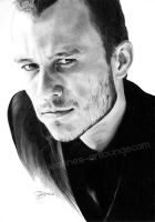 Heath Ledger by Jeanne-Lui