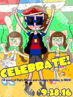 Today's The Big Day! [Pop'n Music] by the01angel