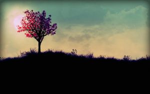 The burning tree by Enigmator