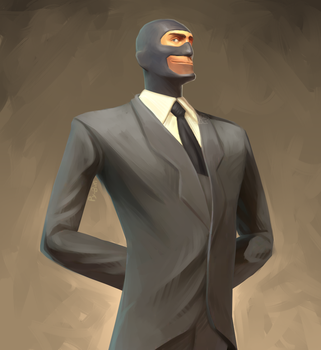 Spy Portrait by Py-Bun