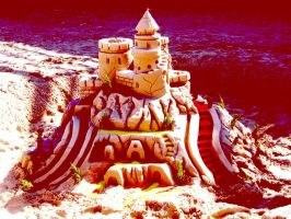 sand castle by xAnotherPrettyFacex