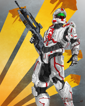 My Spartan by fungster