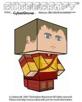 Cubeecraft- Rory Williams 'v3' by CyberDrone