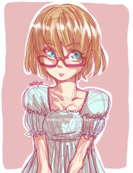 generic megane girl :: by makiyan