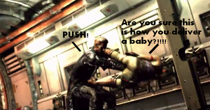 Funny Screencaps 1: Dr. Wesker by CorruptPerfection